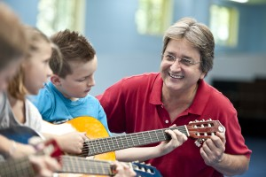 guitar teacher & kids